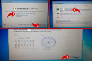 configurarcion de windows 7