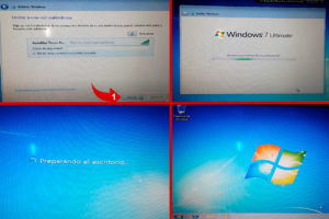 instalacion de windows 7 finalizada